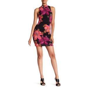 Trina Turk Reputation Floral Print Jersey Dress